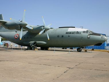 IAF Antonov AN-12 aircraft that is similar to the one that went missing in 1968. Wikimedia Commons: aeroprints.com