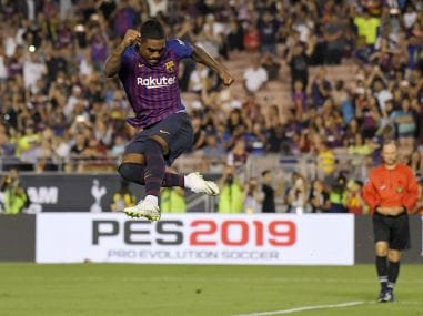 International Champions Cup: New signing Arthur scores stunner in Barcelona's victory over Tottenham Hotspur