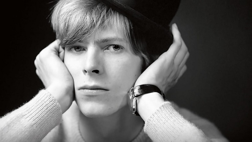 A young David Bowie. Image via Facebook