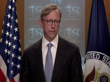 File image of Brian Hook, senior policy advisor to the US Secretary of State. YouTube