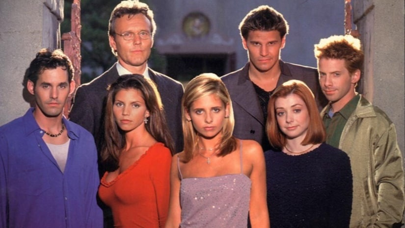 The original cast of the series Buffy The Vampire Slayer. Twitter