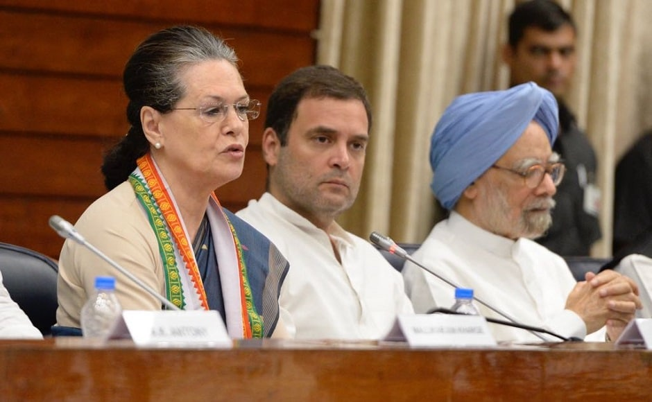In her address to the CWC, Sonia lashed out at the Narendra Modi government and said the people of the country have to be rescued from a