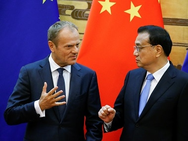 China, EU reaffirm commitment to Paris climate change pact, vow to find ways to cooperate in carbon emissions trading