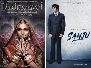 Padmaavat, Sanju dominate nominations at Indian Film Festival of Melbourne Awards 2018