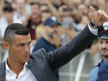 Cristiano Ronaldo recently moved to Juventus from Real Madrid, after nine immensely successful years in the Spanish capital. AP
