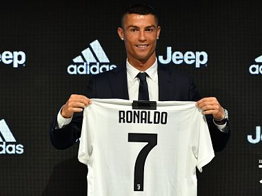 Cristiano Ronaldo will play his first match in the Serie A at Chievo. Image courtesy: Twitter @juventusfcen