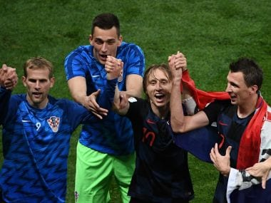 Croatia overcame a series of obstacles to reach the final of the 2018 FIFA World Cup. AP