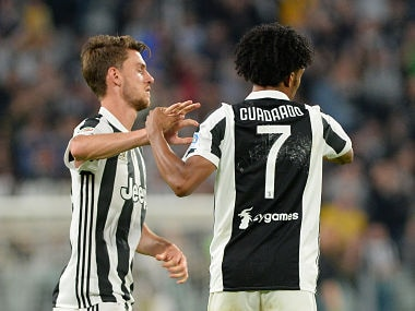 Serie A: Juan Cuadrado says he is happy to give up Juventus No 7 shirt for new signing Cristiano Ronaldo