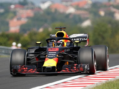 Daniel Ricciardo was a noticeable absence in the top rankings of the German Grand Prix, after a number of grid penalties left him with little chance of winning. AP