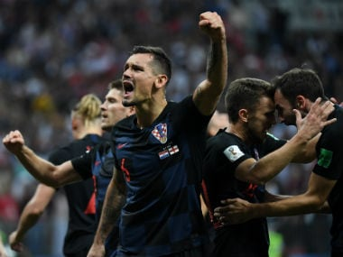Croatia beat England 2-1 to enter the FIFA World Cup final for the first time. AFP