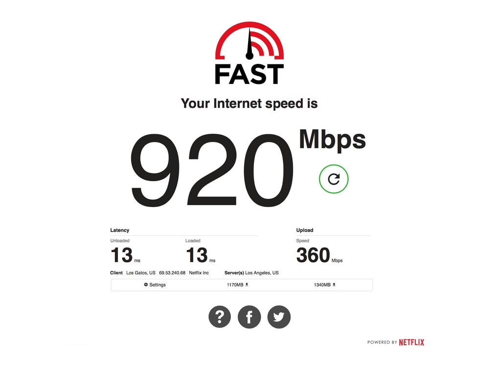 Netflixs FAST.com speed test will now let you view upload speeds and latency