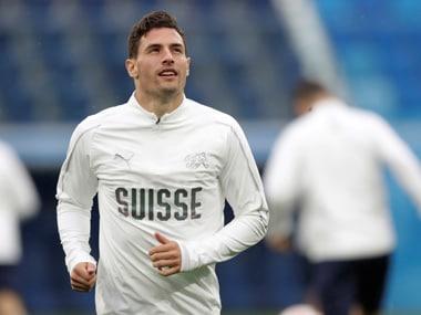 Fabian Schar joined Newcastle United from La Liga side Deportivo La Coruna. Reuters
