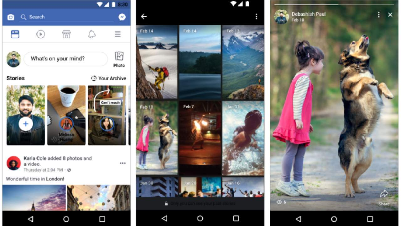 Facebook to test Stories Highlights to unlock the history of your stories