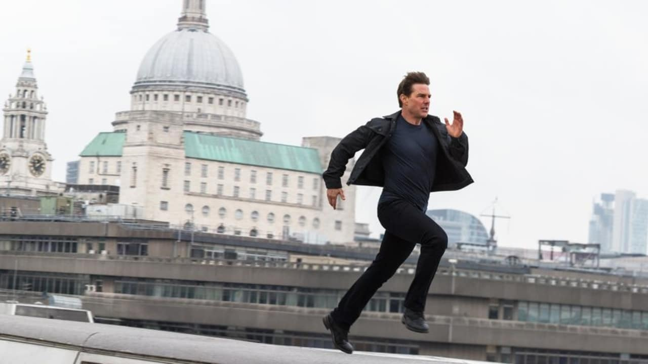 Tom Cruise in a still from Mission: Impossible - Fallout