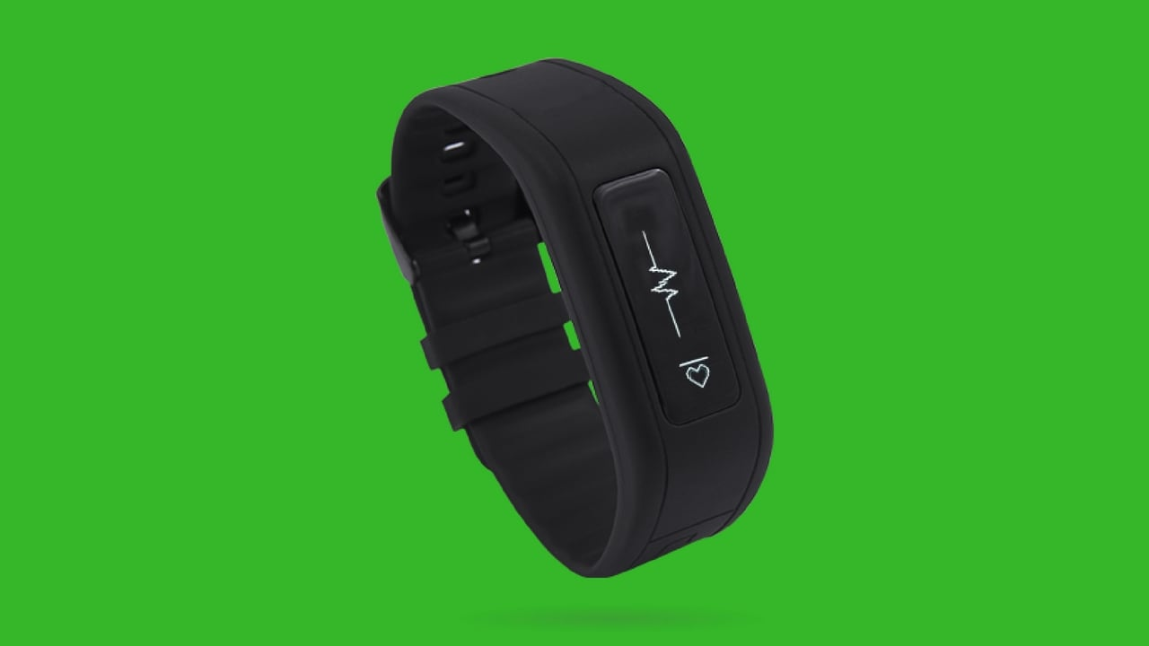 GOQii waterproof fitness band. Image: GOQii