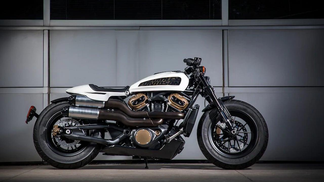 Harley-Davidson Future Custom. Image: Harley-Davidson