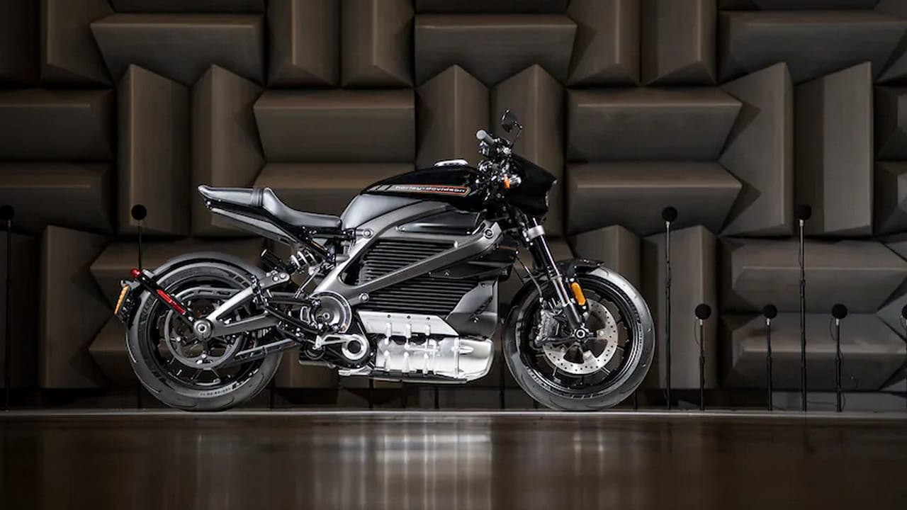 Harley-Davidson LiveWire. Image: Harley-Davidson