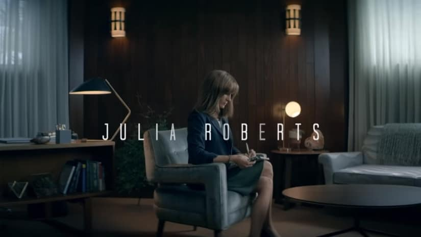 Julia Roberts in the teaser for Homecoming. YouTube Screengrab