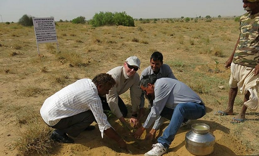 To withstand climate change, farmers need adequate support by way of know-how and practical assistance for adoption of drought- or heat-tolerant crop varieties (cultivars), soil and water conservation technologies, said Anthony Whitbread, a research programme director at ICRISAT. ICRISAT