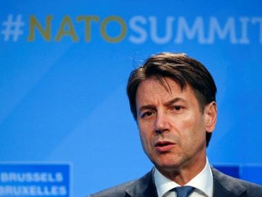 File Image of Italian prime minister Giuseppe Conte. Reuters