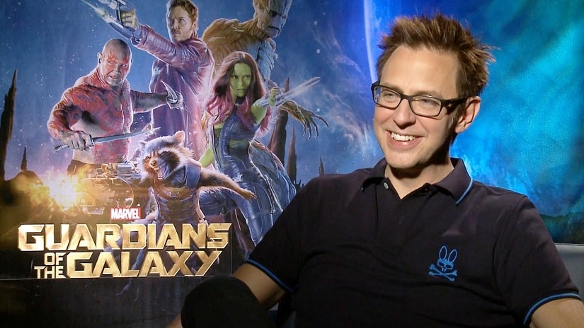 Guardians of the Galaxy writer-director James Gunn. Image via Twitter