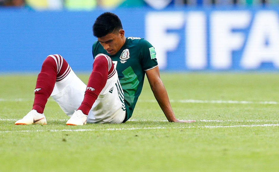 Mexico bowed out after enjoying a thrilling journey to the round of 16, beating defending champions Germany and being drubbed by Sweden along the way. AFP