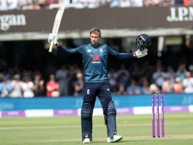 Joe Root led the way for England with the bat by scoring his 13th ODI century. Reuters