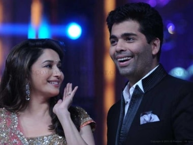 Karan Johar, Madhuri Dixit to reunite on small screen for special episode of her reality show Dance Deewane