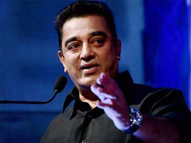 Eggs, stones hurled at dais during rally addressed by Kamal Haasan; two suspects held for questioning