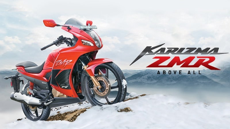 Hero launches the Karizma ZMR again for a starting price of Rs 1.08 lakh