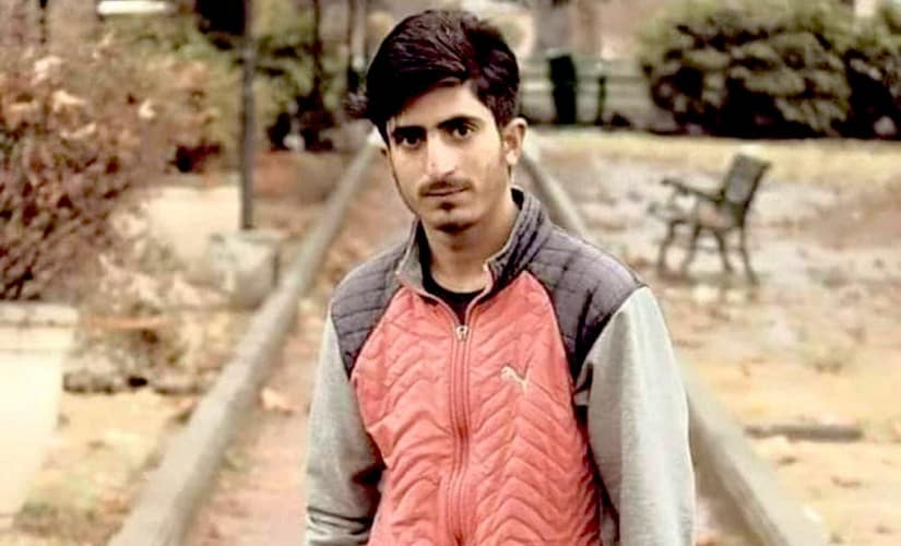File image of Shakir Ahmad Khanday, one of the three civilians killed in security forces firing in Kulgam. Facebook@shakir.khanday.7