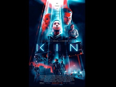 Kin poster hints at action-packed plot of upcoming sci-fi thriller starring James Franco and Zoe Kravitz