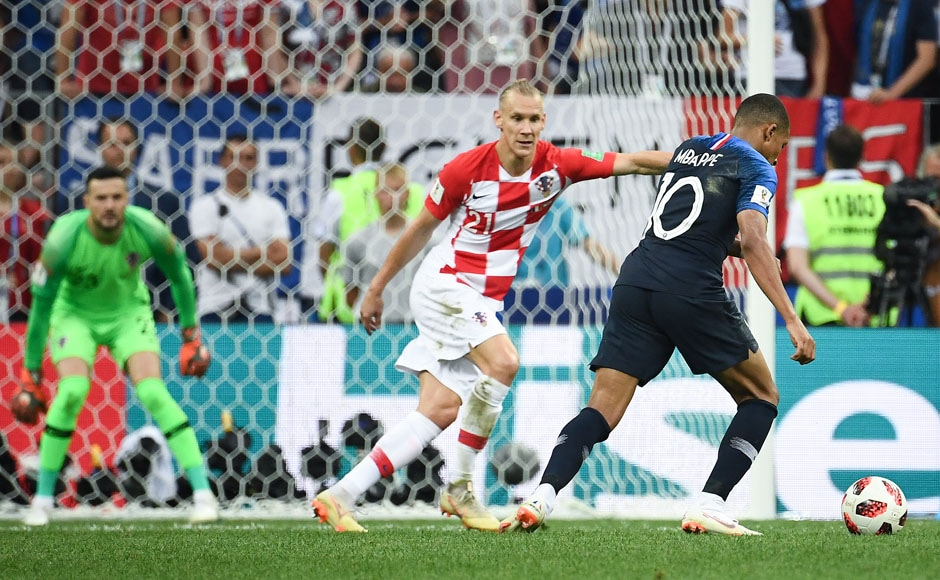 After play was resumed, France quickly added to Croatia's misery with goals from Kylian Mbappe and Paul Pogba, which took their lead to three goals. AFP
