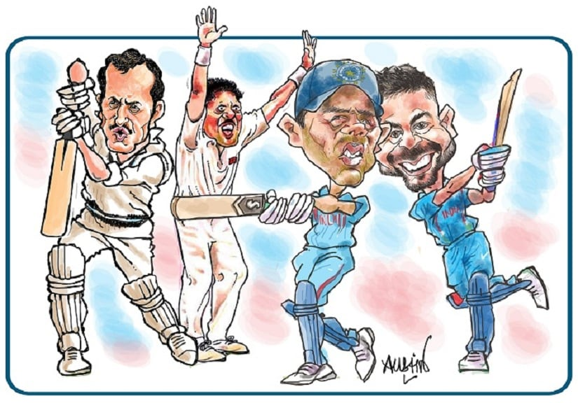 Will Virat Kohli join the select band of Team India skippers who have won Test series in England? Illustration courtesy Austin Coutinho
