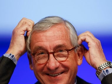 Ulrich Lehner, chairman of the supervisory board of Germany-based technology holding company ThyssenKrupp AG. Reuters