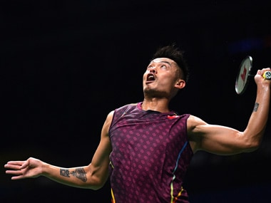 Lin Dan got off to a stellar start in the opening round of the Badminton World Championships in Nanjing, beating Mark Caljouw. AFP