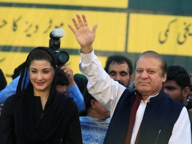 File image of Nawaz Sharif with daughter Maryam. Reuters