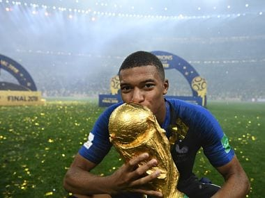Kylian Mbappe played a crucial role in helping France clinch second World Cup title. AFP