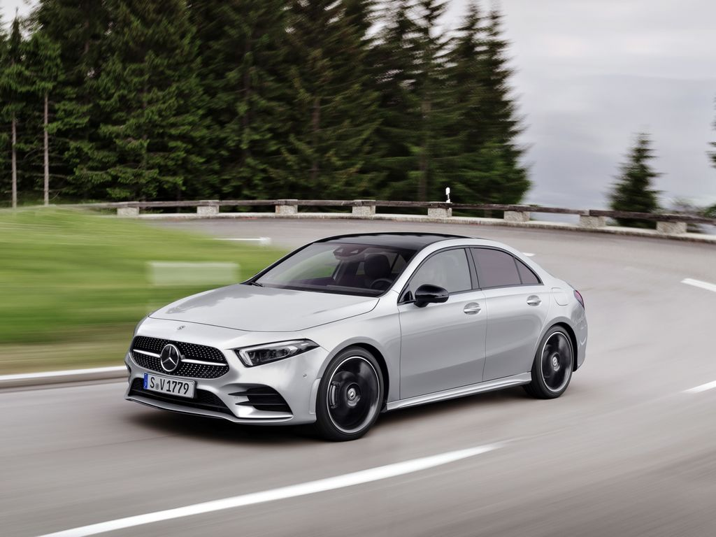 mercedes benz a class sedan has lowest drag coefficient of