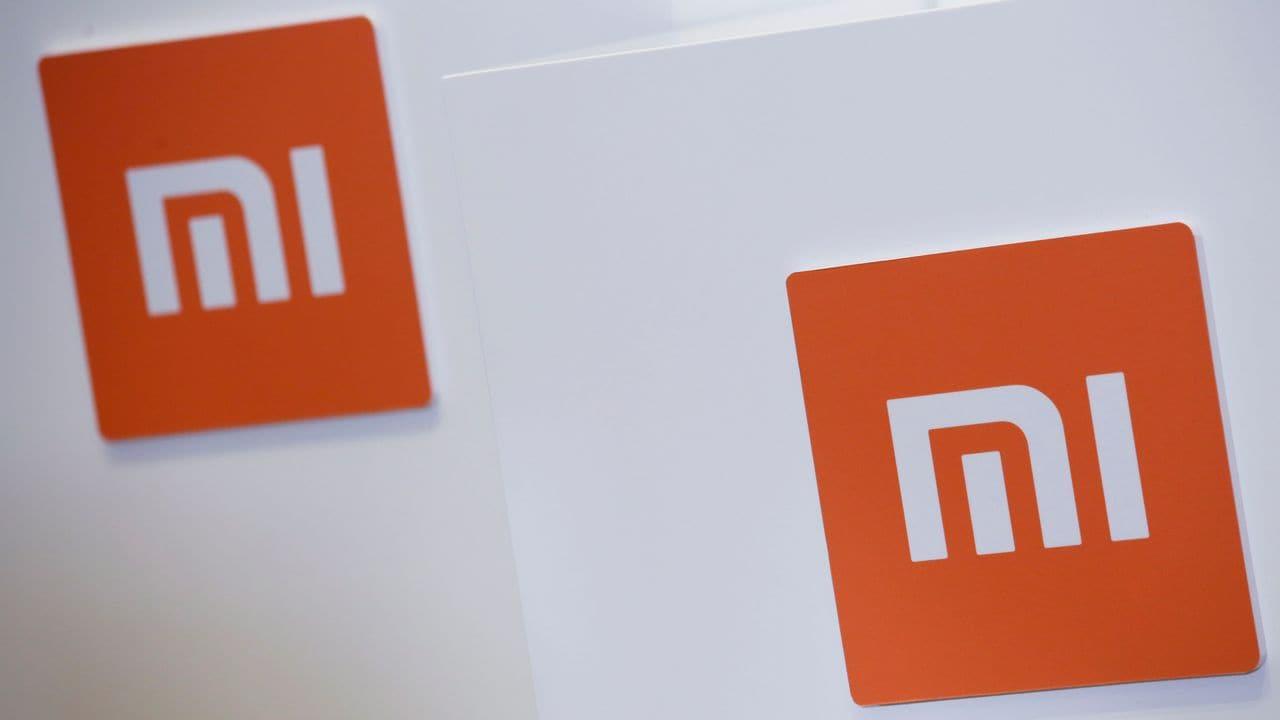 Xiaomi logos. Reuters