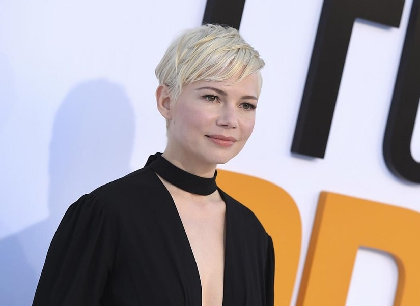 Michelle Williams arrives at the world premiere of I Feel Pretty in Los Angeles. Photo by Jordan Strauss/Invision/AP