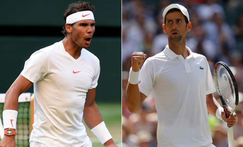 The semi-final clash between Rafael Nadal and Novak Djokovic will be their 52nd career meeting. Reuters