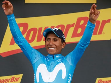 Colombian Nairo Quintana's victory has made Chris Froome's victory unlikely, with Geraint Thomas putting in some distance between himself and his Team Sky teammate. AP