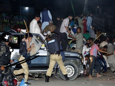 Nawaz Sharif and daughter Maryam shifted to Adiala jail; 50 injured in clashes between PML-N workers, police
