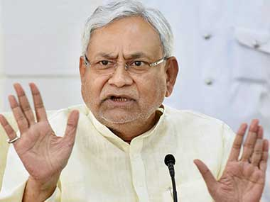 Man tries to throw slipper at Bihar CM Nitish Kumar at students' convention, gets beaten up by JD(U) supporters