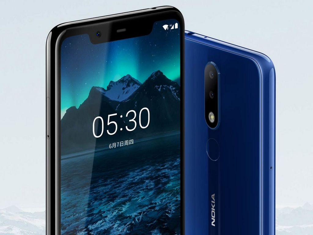 Nokia X5 launched in China with a 5.86-inch display, Helio P60 SoC from CNY 999