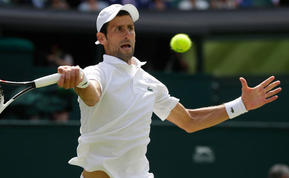 Serbian Novak Djokovic saw off Japan's Kei Nishikori in four sets, beating the 24th seed 6-3, 3-6, 6-2, 6-2. Djokovic will be hoping to bounce back from injury and win his first Grand Slam title since winning the French Open in 2016, but Rafael Nadal lies in his way, as the two face off in the semi-finals. AP