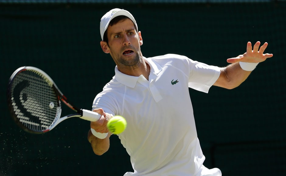Djokovic got off to a strong start against Kevin Anderson. The win against World No 1 seemed to put wind in the Serbian's sails as he dominated the match throughout. AP