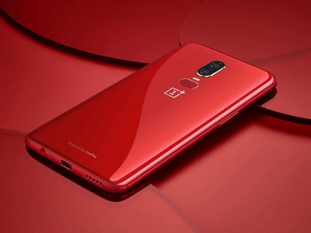 OnePlus 6 Red edition. Image: OnePlus