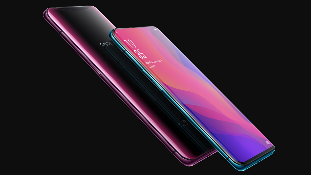The Oppo Find X was globally announced on 19 July. Image: Oppo